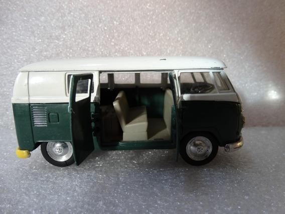 Kombi Volkswagen Microbus 1962 Welly 1:43 Loose *** Ver Obs
