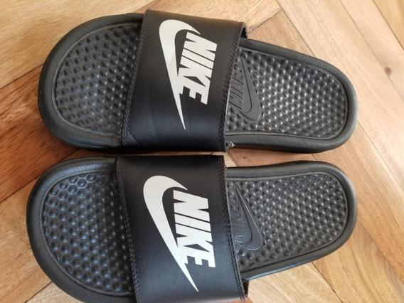 Nike Benassi Jdi Black White Hombre Mujer