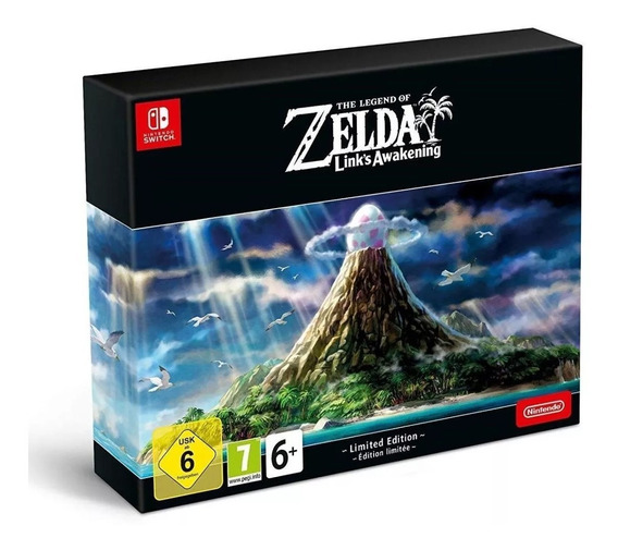 The Legend Of Zelda Link Awakening Limited Edition - Switch