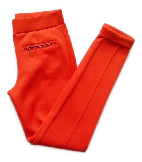 Pantalón Leggins Mono Para Dama Vestimenta Naranja