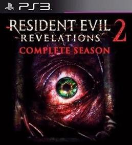 Resident Evil Revelations 2 Ps3 Psn Completo Envio Na Hora!!