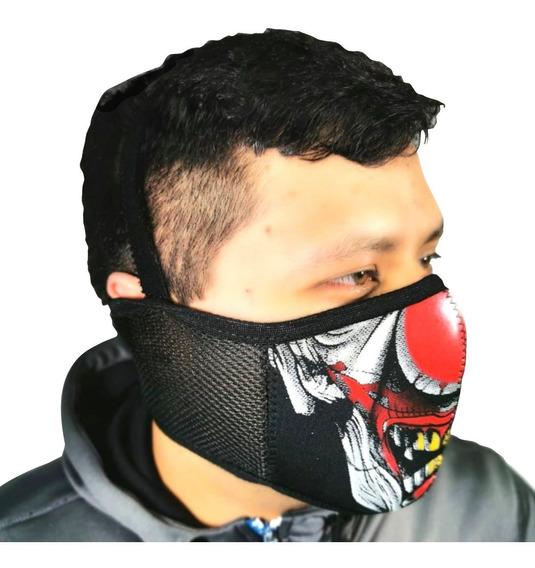 Cubreboca Mascara Neopreno Deportes Aire Libre Motos Correr