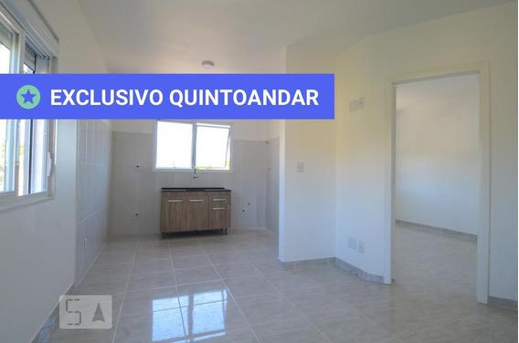 Apartamento No 2º Andar Com 1 Dormitório - Id: 892987199 - 287199
