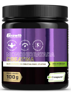 Creatina (100g) Creapure - Growth Supplements