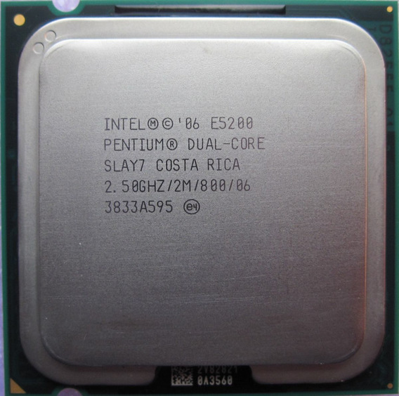 Processor Pentium® Dual Core E5200 Socket 775 Oem
