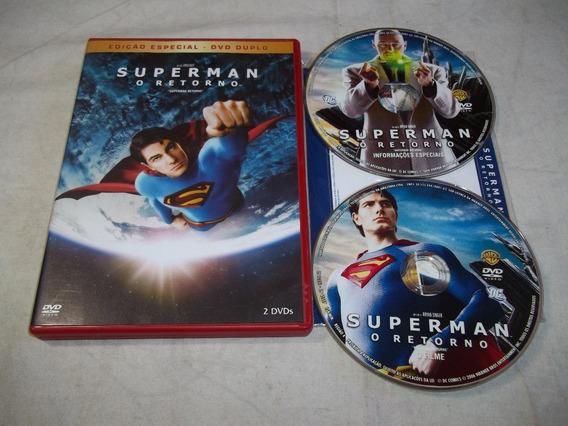 Dvd - Superman O Retorno - Edição Especial - Dvd Duplo