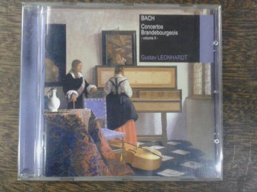 Imagen 1 de 4 de Concertos Brandebourgeois * Gustav Leonhardt * Cd Original *