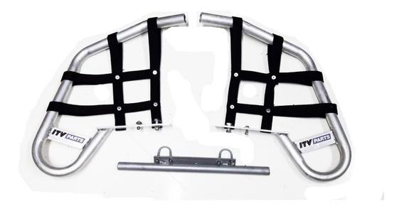 Pisaderas Aluminio Itv Parts Honda Trx 200 En Xero Racing !