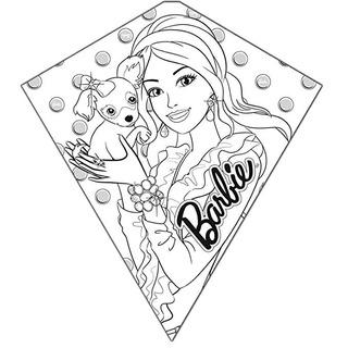 X Cometas Barbie Original Color-me-kite 26 Inches Altura