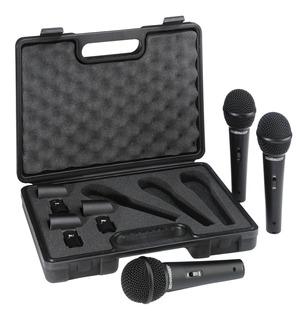 Microfonos Behringer Xm1800s Case Garantizado Evzpro