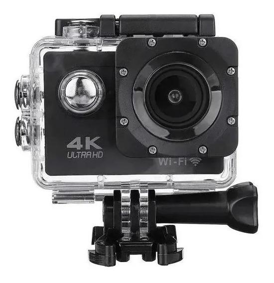 Câmera Sport Hd Filmadora Videos4k Wi-fi 1080p Prova D