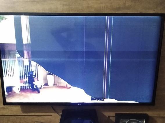 Tv Lg 43 Polegadas Tela Quebrada