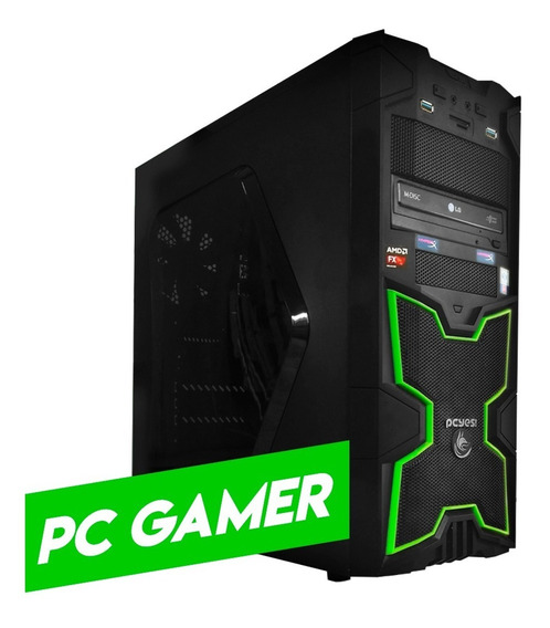 Pc Gamer Completo Amd Fx 6300 / 12gb / Amd Radeon R9 270 2gb