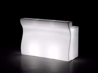 Mobiliario Barra Iluminada Luz Led, Producto Hecho En Italia
