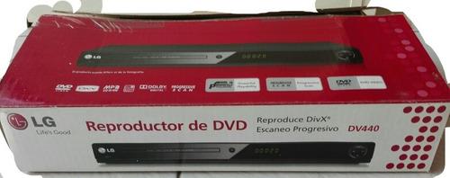 Reproductos Dvd LG Dv 440 - Con Caja Ctrl Remoto-usado- Leer