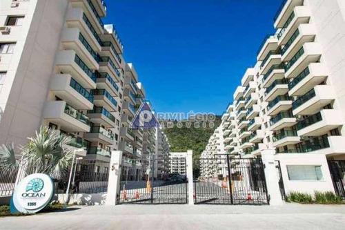 Apartamento À Venda, 3 Quartos, 1 Suíte, 1 Vaga, Recreio Dos Bandeirantes - Rio De Janeiro/rj - 23271