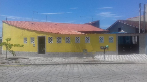Casa Com 2 Dormitórios À Venda, 59 M² Por R$ 160.000 - Itaóca - Mongaguá/sp - Ca0731