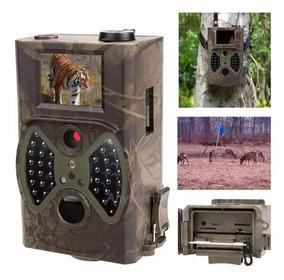 Trilha Câmera Caça A Prova D`guá Com Visor Lcd Hd 1080