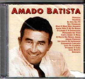 10cc76901 Cd Amado Batista Princesa Grandes Sucessos Orig Lacr Novo