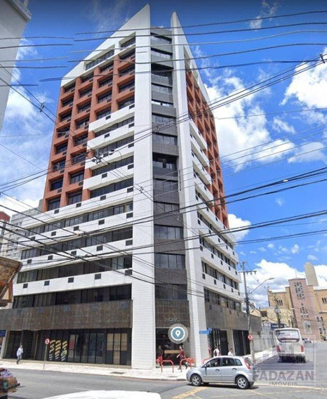 Sala Para Alugar, 30 M² Por R$ 800,00/mês - Centro - Curitiba/pr - Sa0052