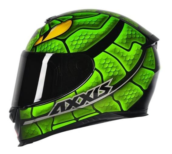 Capacete Moto Axxis Eagle Snake Várias Cores Lançamento