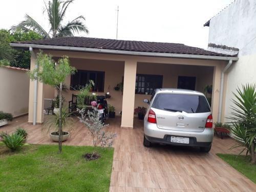 Bonita Casa Com Espaço Para 3 Carros Em Itanhaém - 6450  npc