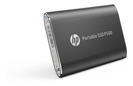 Ssd Portátil Externo Hp P500 250gb Usb 3.1 Preto