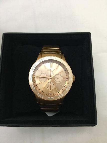 Relógio De Pulso Puma 96163 Rose Feminino 5atm Original
