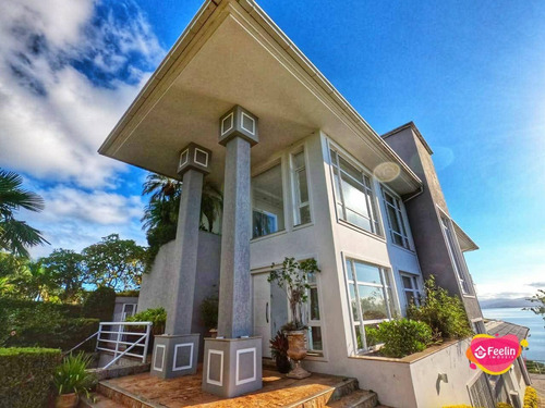 Imagem 1 de 30 de Casa Com 5 Dormitórios À Venda, 672 M² Por R$ 8.500.000,00 - Cacupé - Florianópolis/sc - Sc - Ca0066_feelin