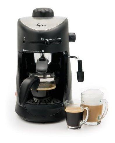 Capresso 303.01 Maquina De Cafe Expres Y Capuchino De 4 Taza