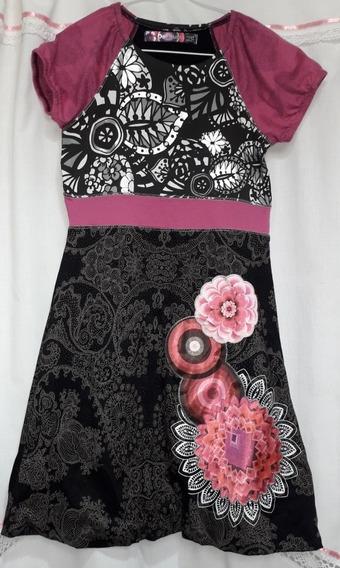 Vestido Nena Desigual Talle 11/12 Sin Estrenar Importado