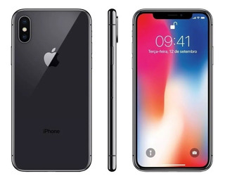 iPhone X 64 Gb Com 1 Ano De Garantia Apple