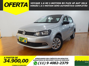 Volkswagen Voyage 1.6 I-motion Flex Aut Completo Imperdível