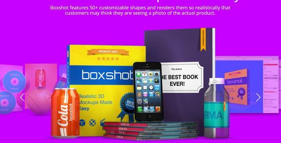Crie Embalagens 3d Com Boxshot4 Ultimate 64bits-fácil Uso!