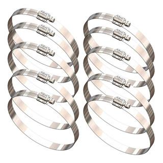 10 Abraçadeiras Aço Inox Suprens Flexil Fif 7695