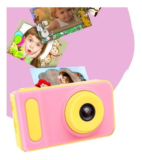 Camera Digital Infantil Foto Tela Lcd Fotográfica Kids Crian