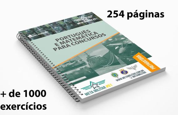 Apostila Português E Matemática [impressa] Meta Militar