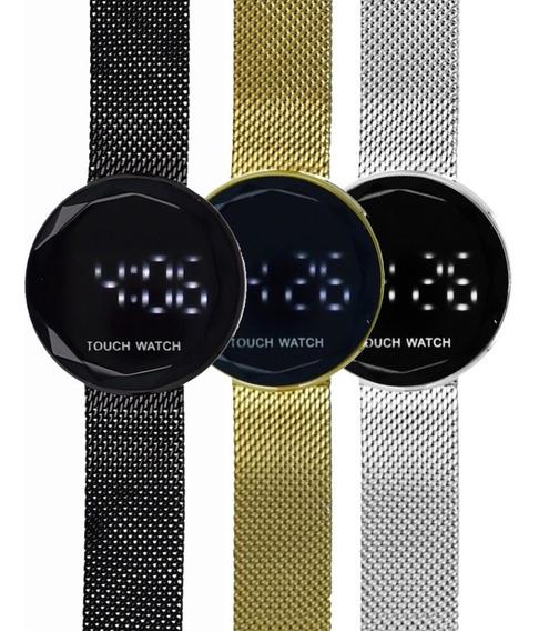 Reloj Touch De Pulsera Digital Elegante, Dama, Caballero