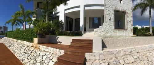 Exclusiva Residencia Puerto Cancun Con Muelle/alberca 4 Rec