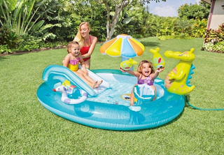 Playcenter Inflable Intex Gator 203 X 173 X 89 Cm