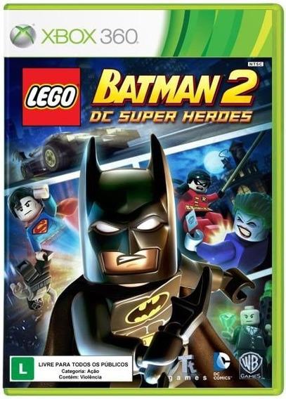Lego Batman 2: Dc Super Heroes(mídia Física) Xbox 360
