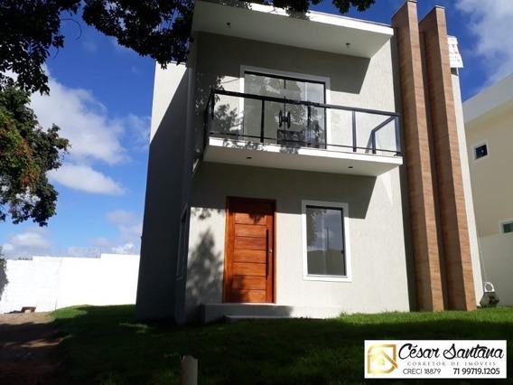 Casa 4/4 Com Suite E Varanda - Em Vila De Abrantes - Ca00518 - 34312372