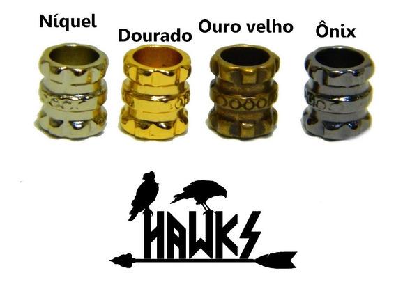 Par Presilha Anel Bead Barba Cabelo Viking Dwarf Art Hawks