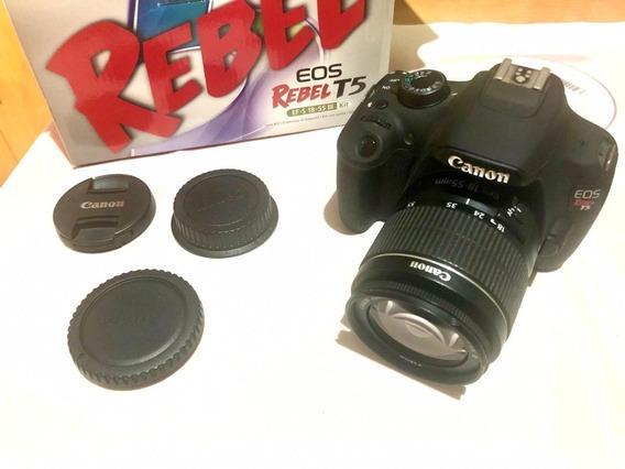 Canon T5 + Lente 18-55mm + Cartão De Memória 16gb