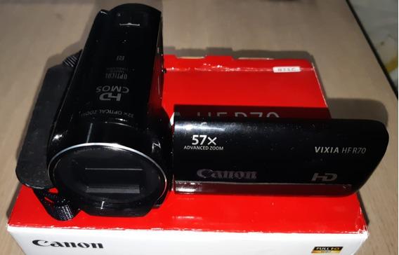 Filmadora Canon Vixia Hf R70 Zoom 57x Digital / 2 Baterias