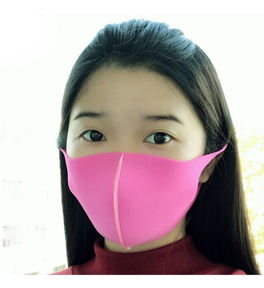 Kit 3 Máscara Ninja Anti Poeira Lavável Qualidade Manicure