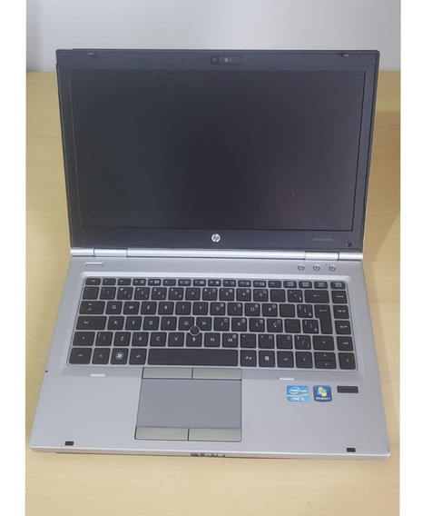 Notebook I5 2.50ghz 4gb Ssd 120gb Hd Webcan Hp 8460p
