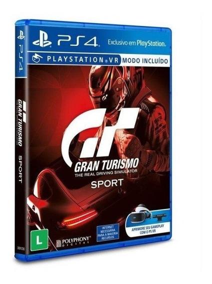 Gran Turismo Sport Ps4 Em Portugês Mídia Física Lacrado