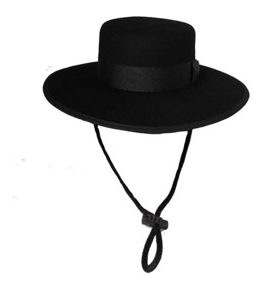 Sombrero Español Cordobés En Fieltro Tallas S M L Y Xl