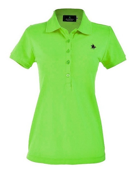 Playera Polo Club, Tipo Polo Dama / Varios Colores